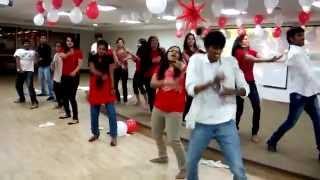 Flash MoB @Cognizant Hyderabad-DLF