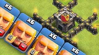 "Clash of Clans ""NEW MAX GIANTS!"" LEVEL 8... LETS PARTY"
