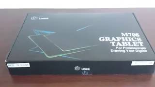 UGEE M708 graphics tablet review. Best budget graphics tablet??