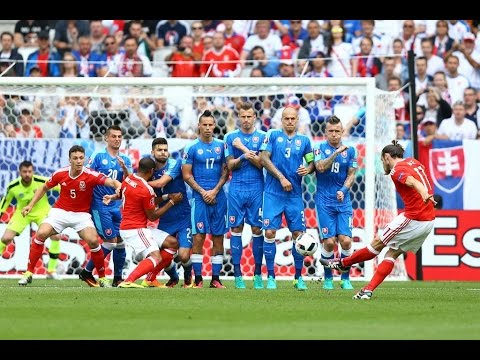 Wales   Slovakia 2 1  Full Highlights & All Goals Euro 2016  English Commentary  11 06 2016