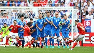 wales slovakia 2 1 full highlights all goals euro 2016 english commentary 11 06 2016