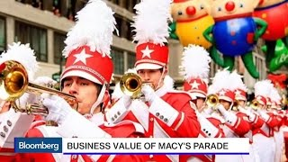 Thanksgiving Parade Is Macy's Gift to America: CEO