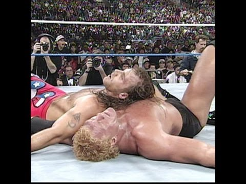 Shawn Michaels wins the WWE Championship from Psycho Sid