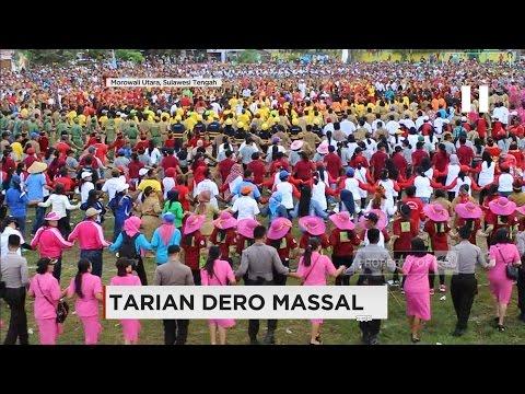 Ribuan Orang Ikut Tari Dero Massal
