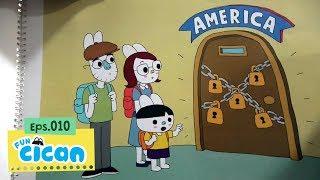 Cican Mencari 5 Kunci untuk ke Amerika - Dongeng Spontan with @MasWaditya