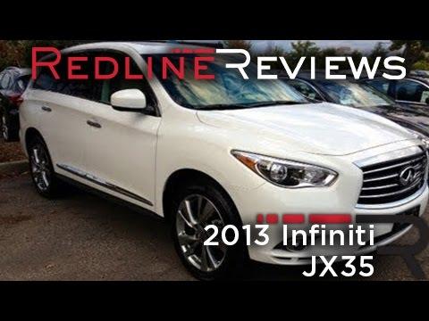 2013 Infiniti JX35 Review, Walkaround, Test Drive