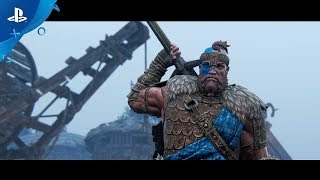 For Honor: Season 3 - The Highlander Gameplay | PS4