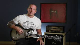 RED: Anthony Armstrong Guitar Lesson - Feed The Machine