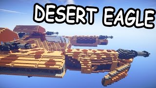 КОСМИЧЕСКИЙ КОРАБЛЬ DESERT EAGLE в майнкрафт + Подарок - Minecraft - Карты