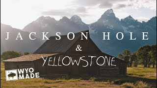 JACKSON HOLE & YELLOWSTONE TRAVEL VLOG