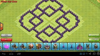 Clash Of Clans-TH7 Farming Base