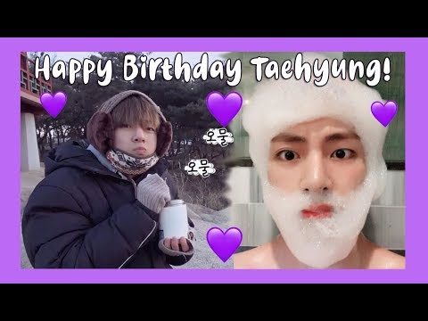 HAPPY BIRTHDAY TAEHYUNG! (THE EVOLUTION OF TAE IN MVs)