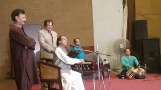 Gambar cover Ustad Ghulam Ali khan Letest perform Ustad Mehdi Hassan tribute program Lahore 11.7. 2019 .