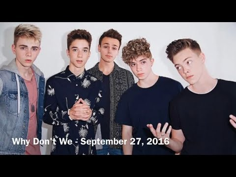 Names And Birthdays Of Why Don't We