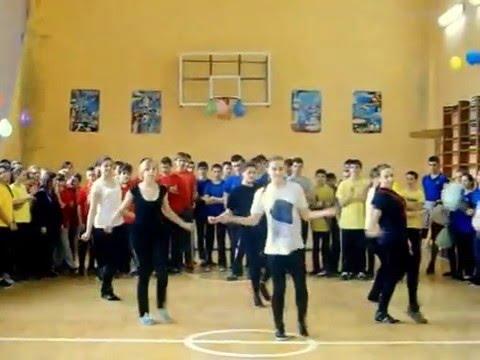 ФлешмобБыстрый спортивный танец круто танцуют