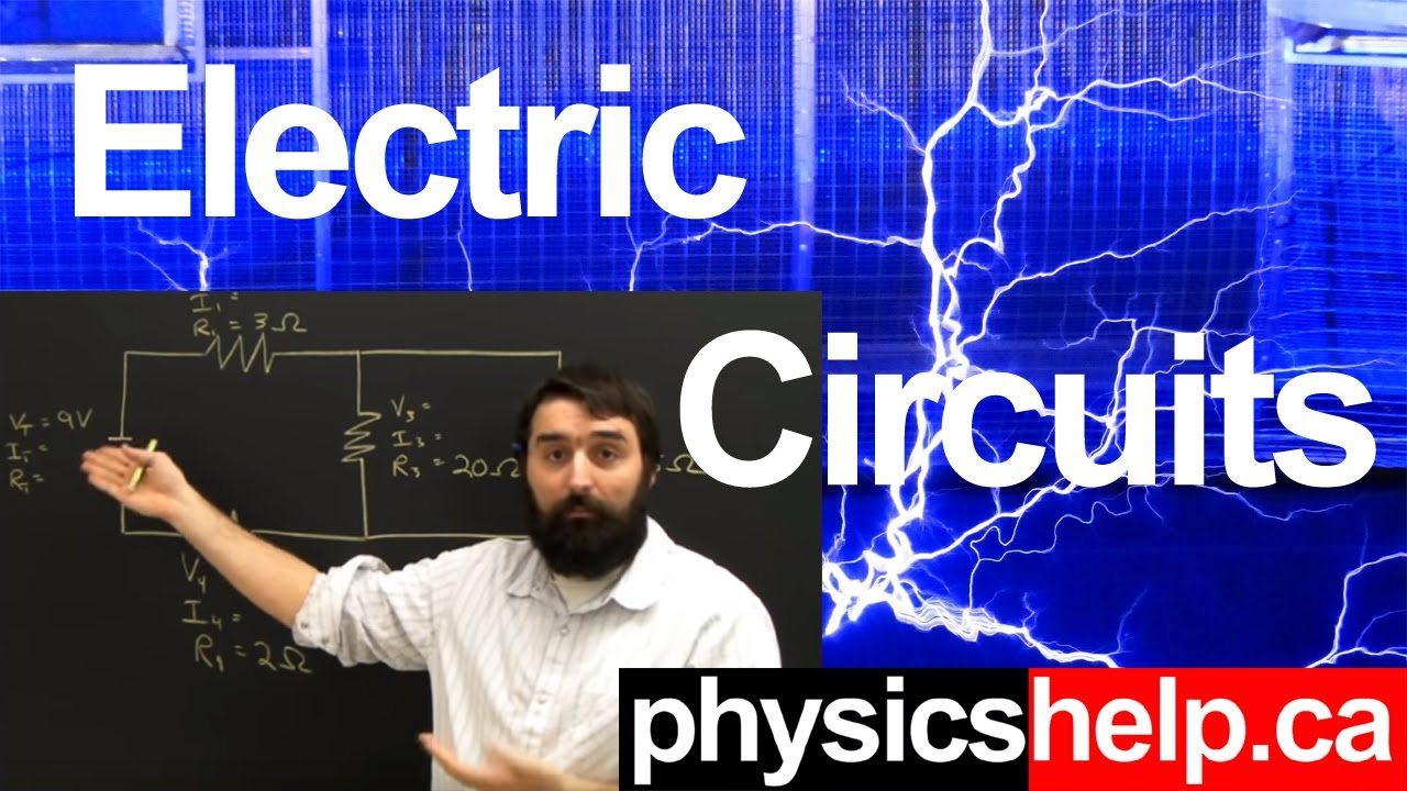 How To Draw Simple Electric Circuits Lesson Youtube Simultaneouscurrentlimiting Powersupplycircuit Circuit Diagram