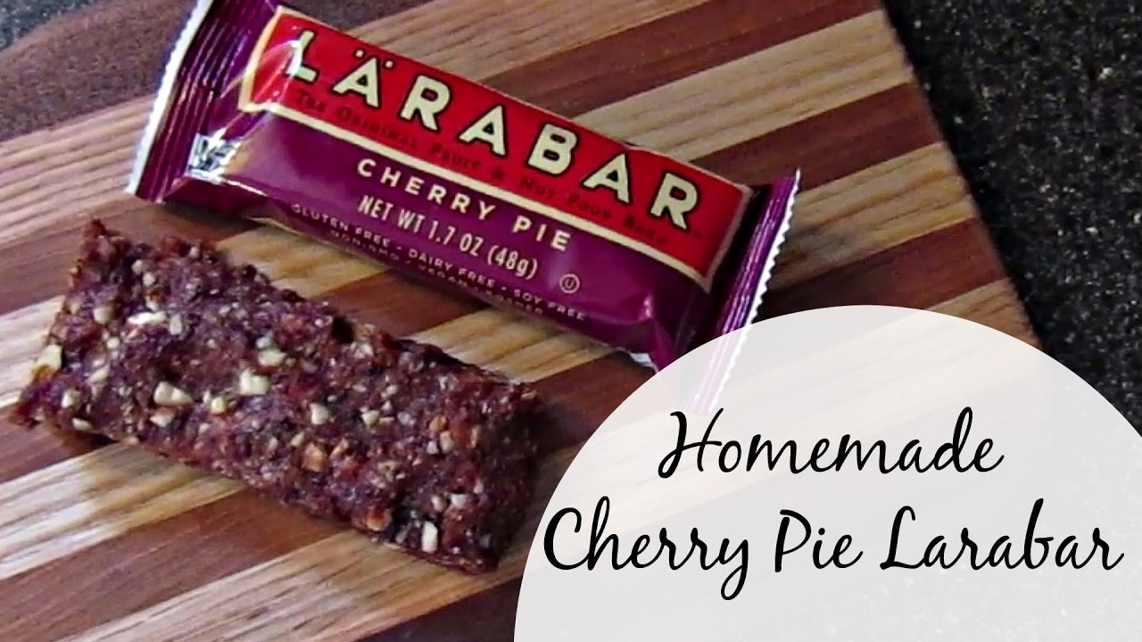 Homemade Larabars | Cherry Pie - YouTube
