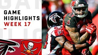 Falcons vs. Buccaneers Week 17 Highlights | NFL 2018