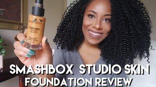 Smashbox Studio Skin 15 Hour Wear Hydrating Foundation Review| Lia Lavon