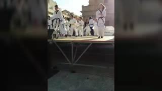 ASD OLYMPIC'S GLADIATORS: ESIBIZIONE IN OCCASIONE DELLA FESTA DELLO SPORT A BAGHERIA (23/04/2017)