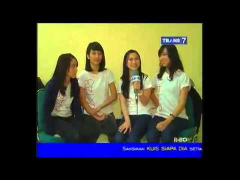 Ekspresi JKT48 Ketika Uji Nyali @ jurit malam di Trans 7