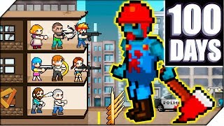КУПИЛ СПЕЦНАЗ. НОВЫЙ ЗОМБИ БОСС - Игра 100 DAYS # 3  Zombie Survival
