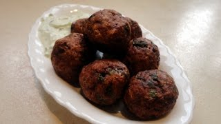 Mediterranean Meatballs and Tzatziki Recipe