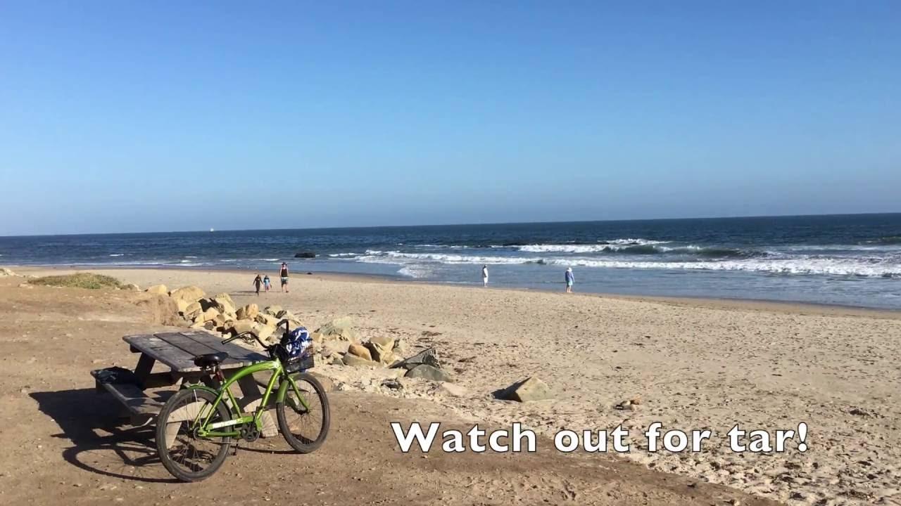 RV Camping | Carpinteria State Beach Camping - YouTube on