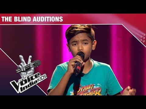 Bunty Performs On Meri Zindagi Ek Pyaas   The Voice India Kids   Episode 5