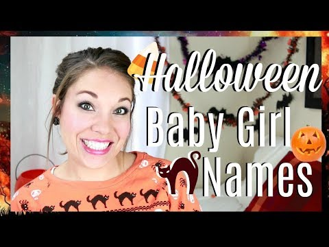 5 Halloween Baby Girl Names!!   All About Baby Names