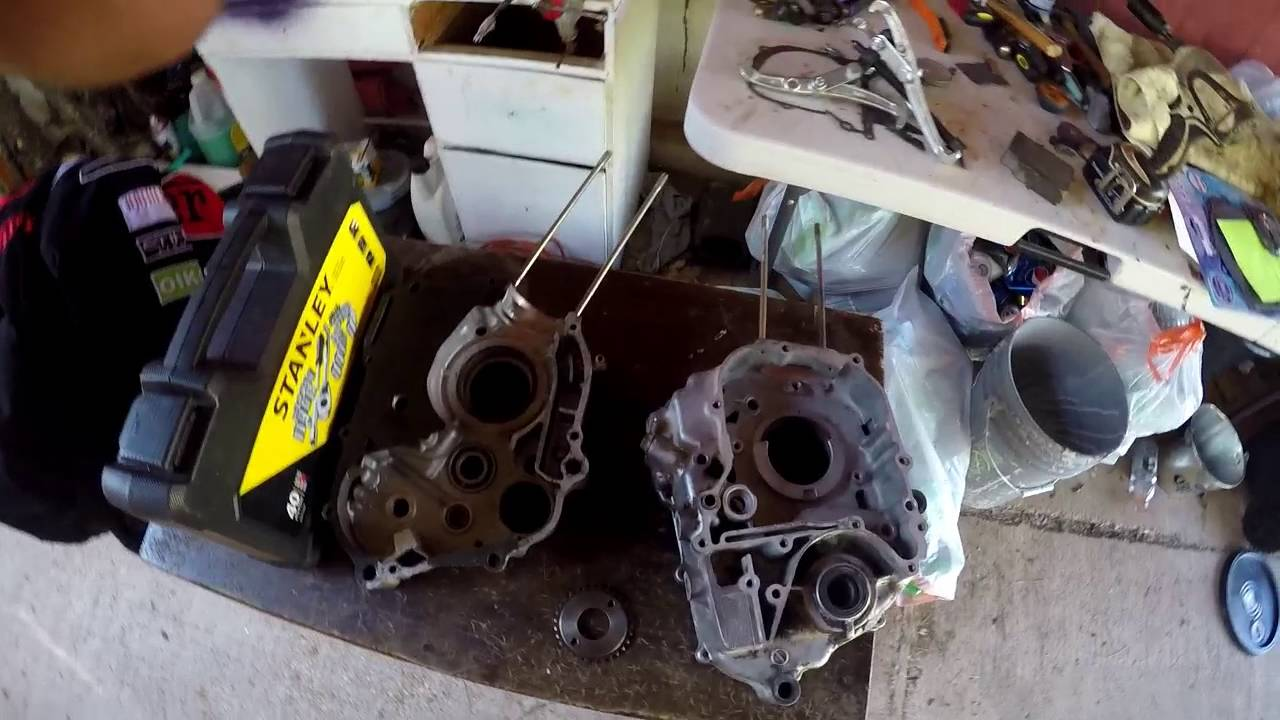 honda ct110 rebuild part 18 assembling the front end working on rh youtube com Engine Block High Performance Engine Rebuild