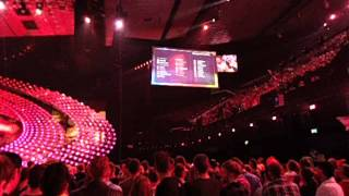 Eurovision Song Contest 2015: Qualifiers announcement SF 2 - Live in the Arena