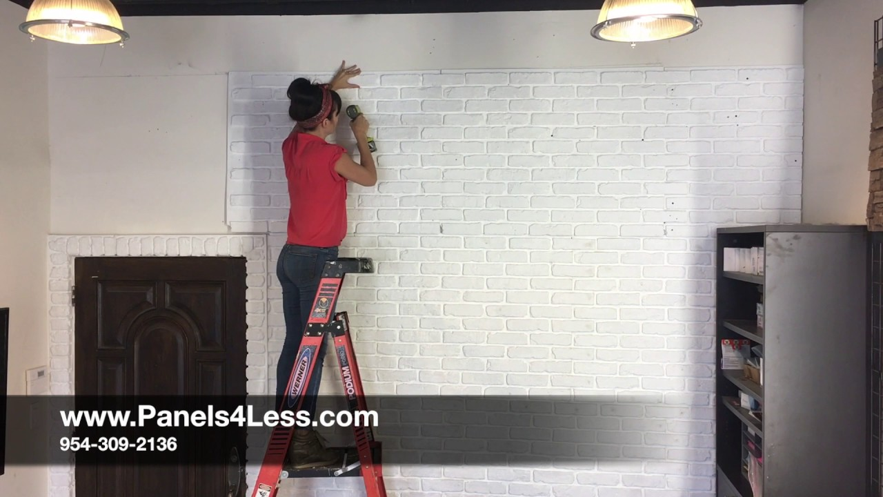 Panels4less Chicago Brick Install Youtube