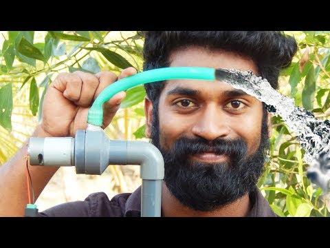 How To Make A Mini Water Pump At Home   പമ്പ് ഉണ്ടാക്കാൻ പഠിച്ചാലോ... ???  