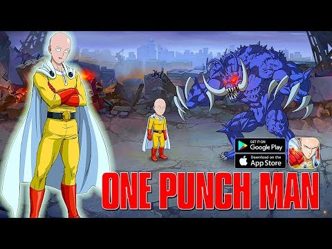 One Punch Man: The Strongest Man - Officially Launched Gameplay (Android/IOS)