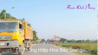 Thị Trấn Thắng Hiệp Hoà Bắc Giang   Phố Thắng   Hiep Hoa District Review   Vietnam Discovery Travel