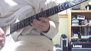 BELOVEDのイントロ~ギターソロです。 この曲をコピーした人は多いので...