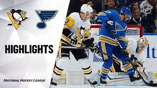 NHL Highlights | Penguins @ Blues 11/30/19