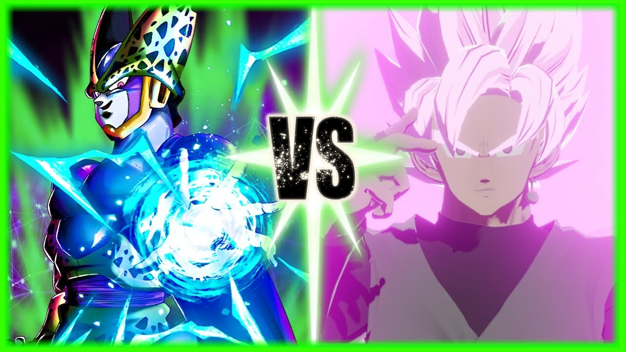 Perfect Cell Vs Budget Increase Goku Black [Blender Animation]