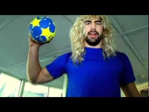 karaoké de l'équipe de France de handball 30 01 2011