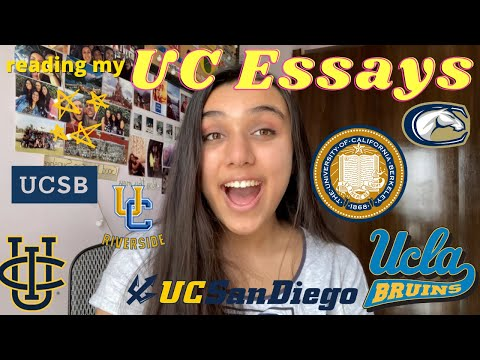 THE ESSAYS THAT GOT ME INTO ALL OF THE UCs + Tips On How To Choose Prompts & Approach Them   2020