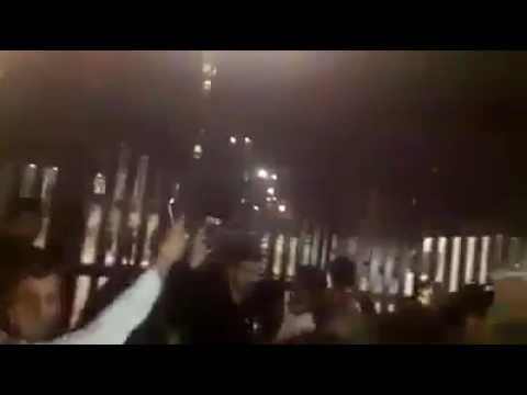 Iran Ahvaz Regime's Fear, of the Continued Protests, people chant we'll come back tomorrow