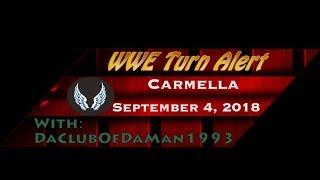 WWE Turn Alert: Carmella - September 4, 2018