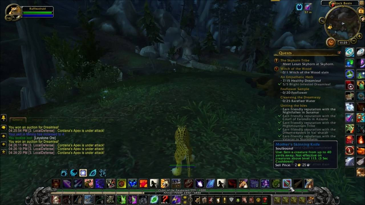 How to use every gathering profession on one character WoW legion ...
