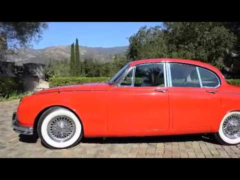 sold 1962 jaguar mk2 3 8 restored investment quality california youtube. Black Bedroom Furniture Sets. Home Design Ideas