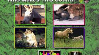 Kids Zoo A Baby Animal Adventure MS-DOS/Packard Bell Version Part 2