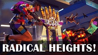 Radical Heights gameplay - NEW BATTLE ROYALE GAME!