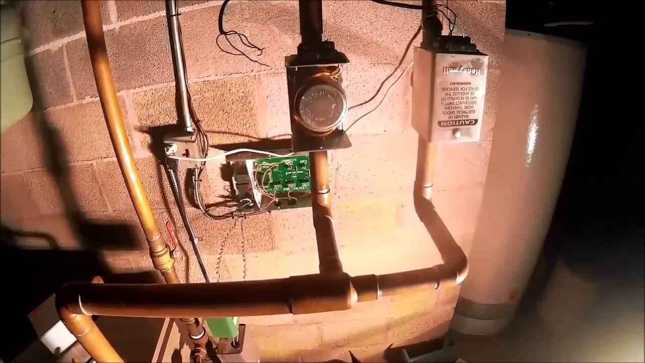Bad End Switch On A Honeywell Zone Valve V8043f1036