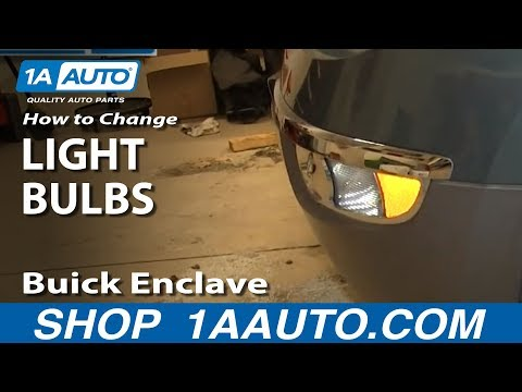 How To Change Bulbs on Headlights, Fog Lights, Turn Signals