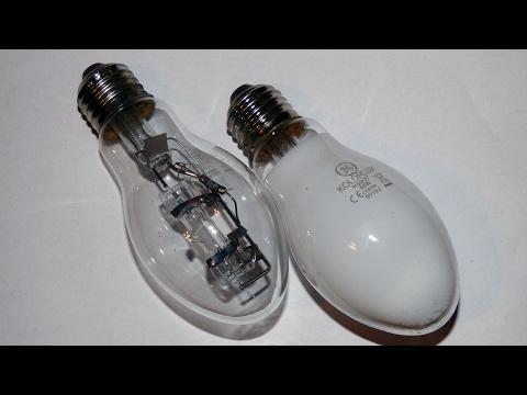 Cleaning mercury lamp - Przeróbka lampy rtęciowej GE - LRF na LR